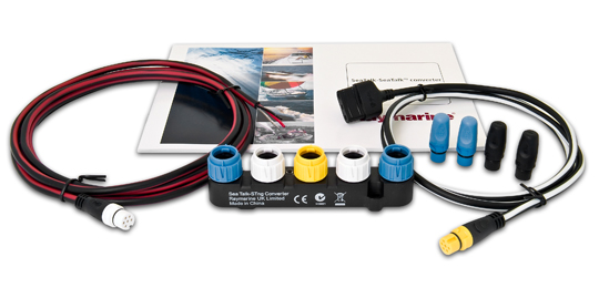 What's in the kit?   Raymarine